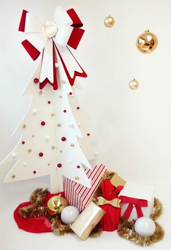 geschenke und anderes zeug tannenbaum basteln