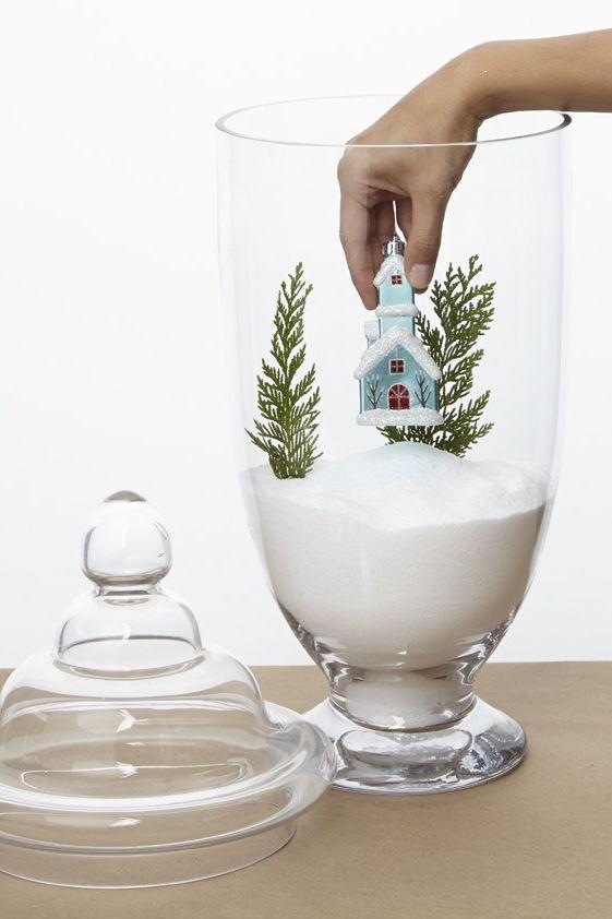 glas mit salz schmuck basteln