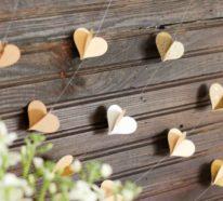 Girlande basteln – 80 Dekoideen für extra weihnachtliche Stimmung