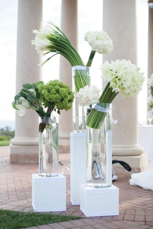 helle weiße vasen deko ideen