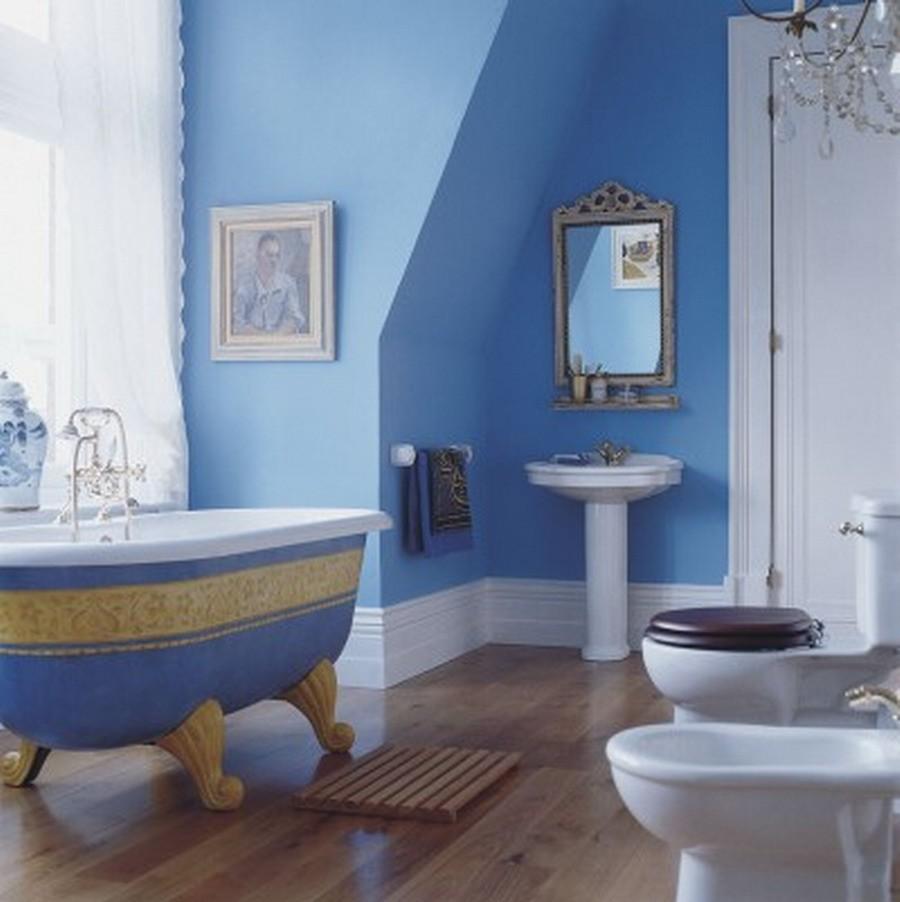 helles blau und weiß trendfarben