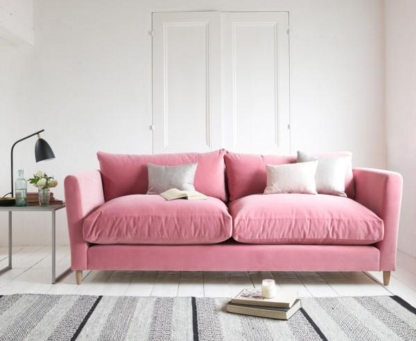 hellroses sofa trendfarben