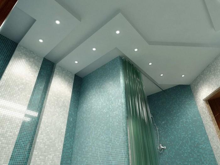 hohe decken badezimmer decken