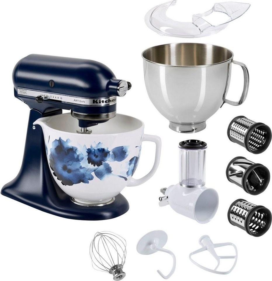 küchenmaschinen sehr moderne blaue farbe