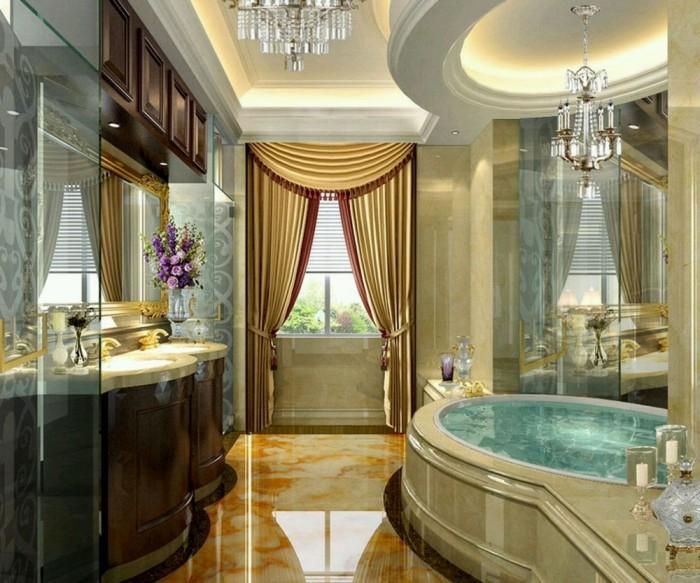 leuchte als idee badezimmer decken