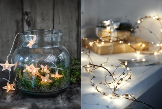 lichterkette skandinavische weihnachtsdeko