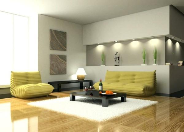 minimalistische wohnzimmereinrichtung designtipps