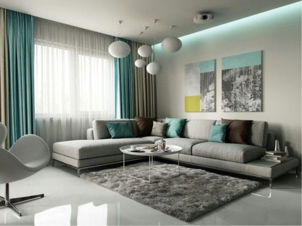 Grey And Turquoise Living Room Decor Entranching Living Room Modern Gray Turquoise Inside Grey Gold Of Best Pictures