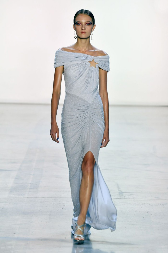 modetrends kleid mit stern ny