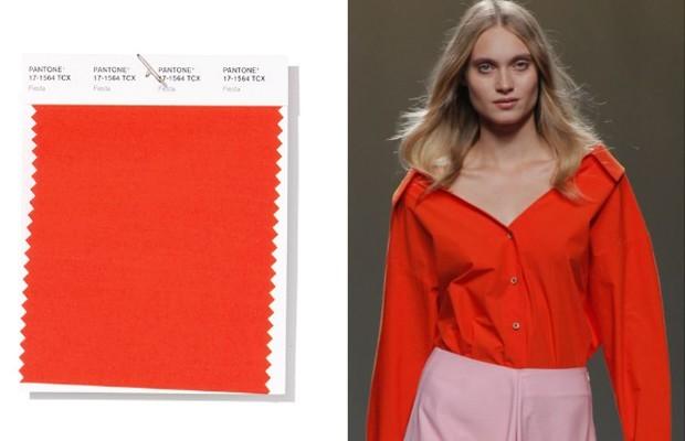 pantone trendfarben nur orange
