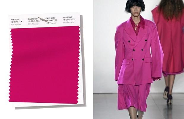 pantone trendfarben tolle violett schattierung