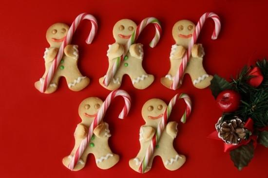 pffeferkuchen weihnachten zuckerstangen deko