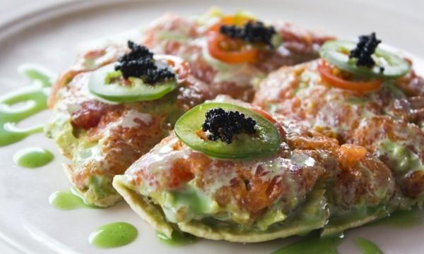pizzabelag ideen lachs paprika kaviar