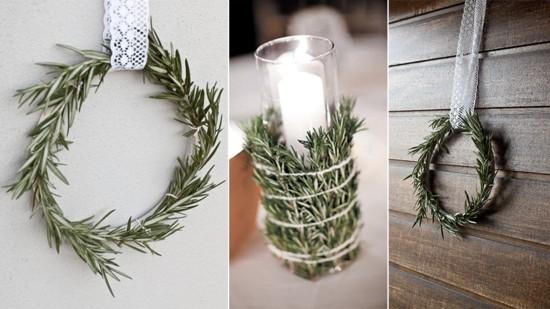 rosmarin skandinavische weihnachtsdeko ideen
