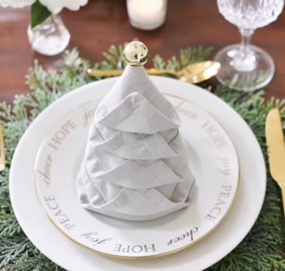 Servietten Falten Weihnachten 5 Einfache Anleitungen Und