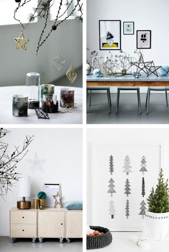 skandinavische weihnachtsdeko dekoideen