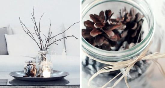 skandinavische weihnachtsdeko puristische dekoideen