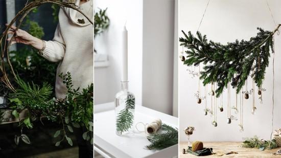 skandinavische weihnachtsdeko selber basteln
