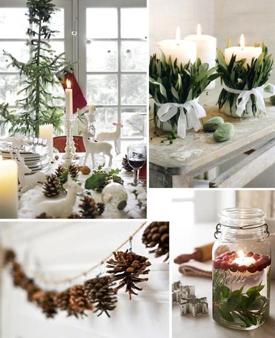 skandinavische weihnachtsdeko selber machen ideen