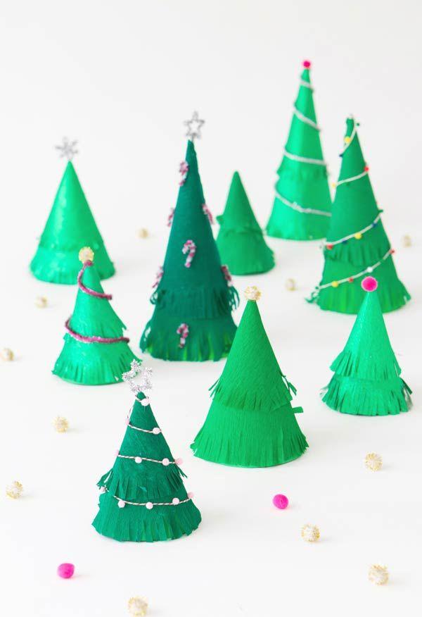 tannenbaum basteln party zeug grün