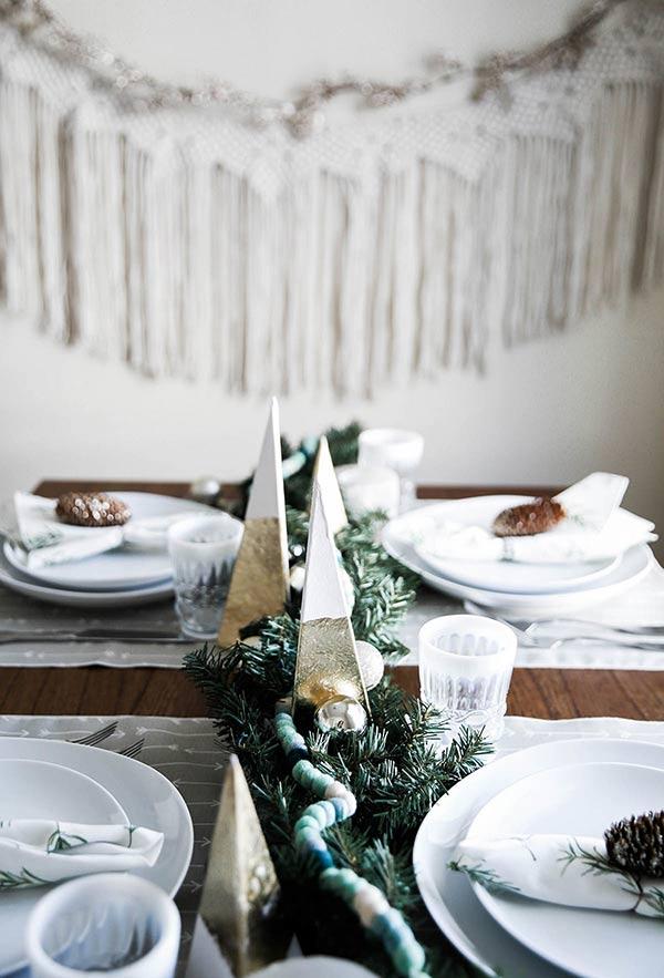 tolle deko aus papier tannenbaum basteln