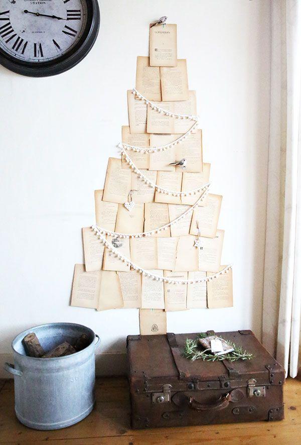 tolle grusskarten tannenbaum basteln
