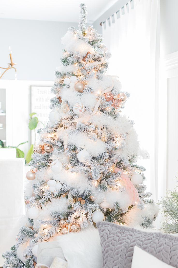 tolle weiße pracht christbaumschmuck