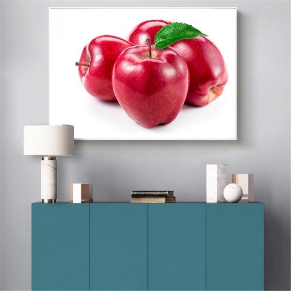 tolles bild mit äpfeln deko ideen
