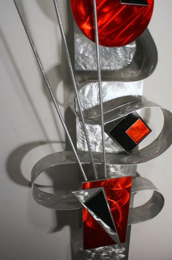 tolles design aus metall deko ideen