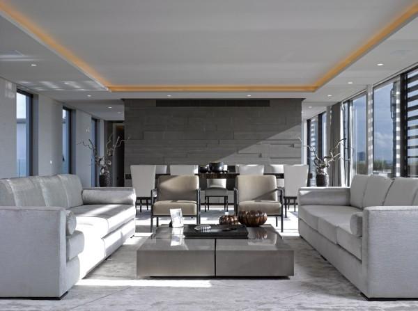trendfarben wohnzimmergestaltung mit hellen grauen nuancen