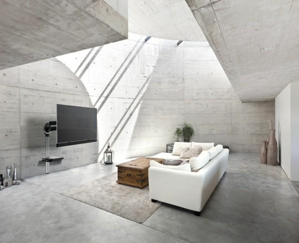 tv wandhalterung betonwände