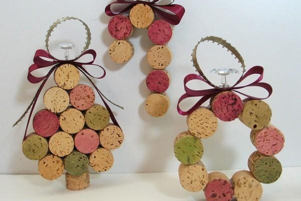 Basteln Mit Korken 30 Stilvolle Ideen Fur Weihnachten