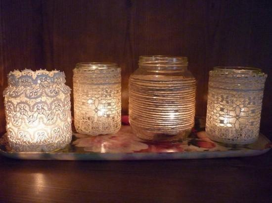 vintage romantik windlichter basteln