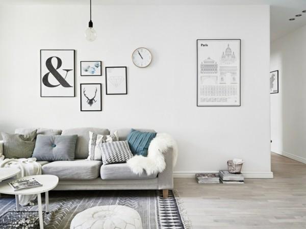wanddeko designtipps skandinavisch