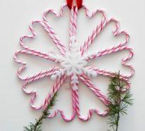 45 festliche Zuckerstangen Deko Ideen, die Weihnachten noch mehr versüßen