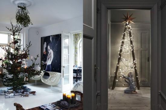 weihnachtsbaum dekorieren skandinavische weihnachtsdeko