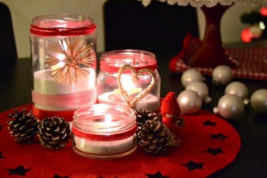 windlichter basteln last minute weihnachtsgeschenke
