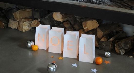 windlichter basteln mit papiertüten