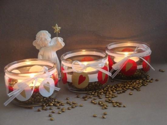 windlichter basteln weihnachtsdeko ideen