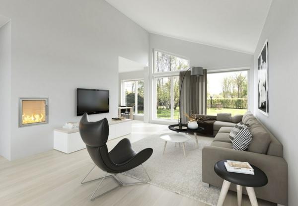 wohnzimmer designtipps tv wandhalterung