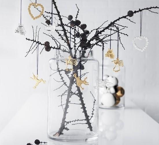zapfen christbaumschmuck skandinavische weihnachtsdeko