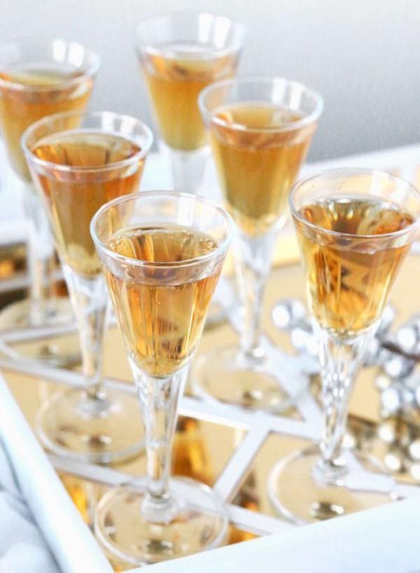 Festliche Cocktails zu Weihnachten und Silvester Scotch Martini Cocktail