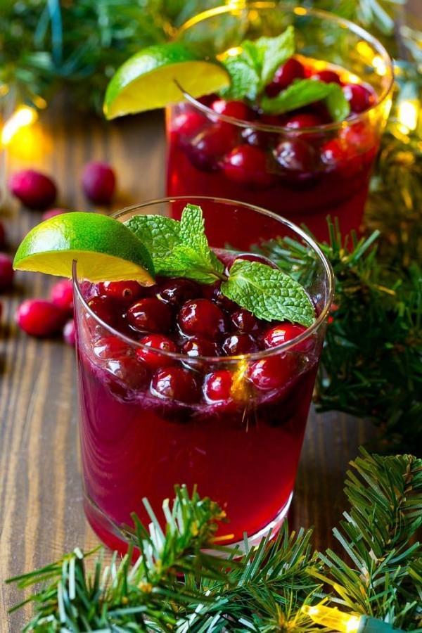 Festliche Cocktails zu Weihnachten und Silvester ideen