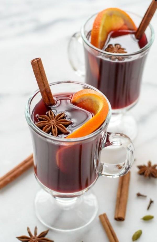 Festliche Drinks für Weihnachten ideen