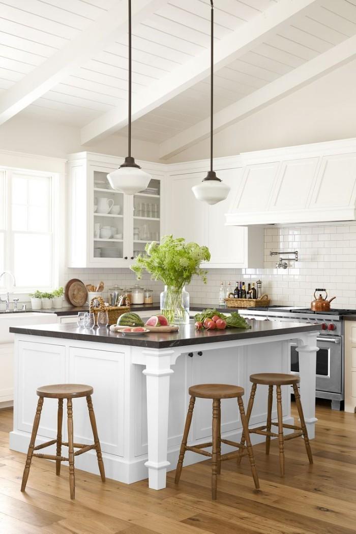 Kücheninsel breite Arbeitsplatte für trendbewusste Kochfans