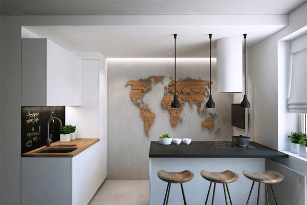 Küchentrends geografische muster ideen