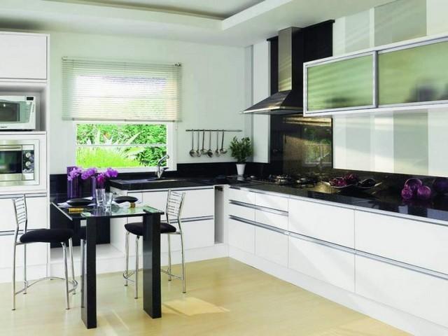 Küchentrends lila blumen sind toll