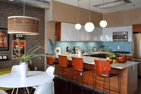 Küchentrends mehrere irdische details