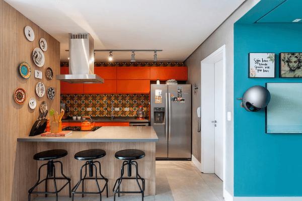 Küchentrends optimale zonierung