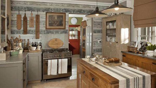Küchentrends rustikale ausstrahlung